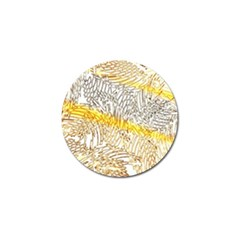 Abstract Composition Pattern Golf Ball Marker