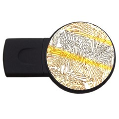 Abstract Composition Pattern Usb Flash Drive Round (2 Gb)
