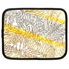 Abstract Composition Pattern Netbook Case (Large)