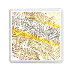 Abstract Composition Pattern Memory Card Reader (square)