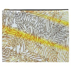 Abstract Composition Pattern Cosmetic Bag (XXXL)
