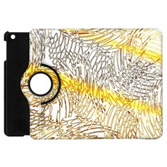 Abstract Composition Pattern Apple iPad Mini Flip 360 Case
