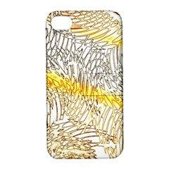 Abstract Composition Pattern Apple iPhone 4/4S Hardshell Case with Stand