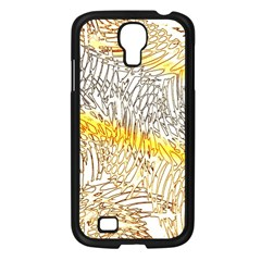 Abstract Composition Pattern Samsung Galaxy S4 I9500/ I9505 Case (Black)