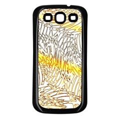 Abstract Composition Pattern Samsung Galaxy S3 Back Case (Black)