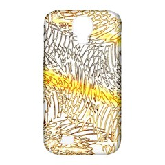 Abstract Composition Pattern Samsung Galaxy S4 Classic Hardshell Case (PC+Silicone)