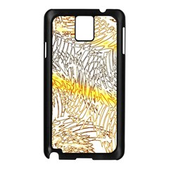 Abstract Composition Pattern Samsung Galaxy Note 3 N9005 Case (Black)