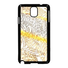 Abstract Composition Pattern Samsung Galaxy Note 3 Neo Hardshell Case (Black)