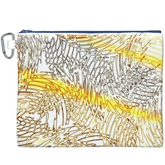 Abstract Composition Pattern Canvas Cosmetic Bag (XXXL)
