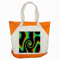Background Colorful Vortex In Structure Accent Tote Bag