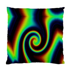 Background Colorful Vortex In Structure Standard Cushion Case (Two Sides)