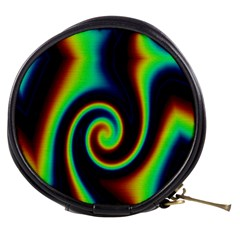 Background Colorful Vortex In Structure Mini Makeup Bags