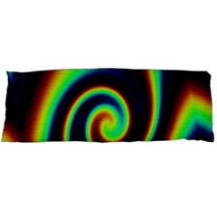 Background Colorful Vortex In Structure Body Pillow Case (Dakimakura)