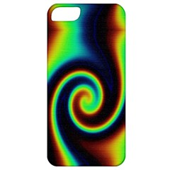 Background Colorful Vortex In Structure Apple iPhone 5 Classic Hardshell Case