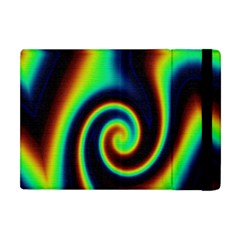 Background Colorful Vortex In Structure Apple iPad Mini Flip Case