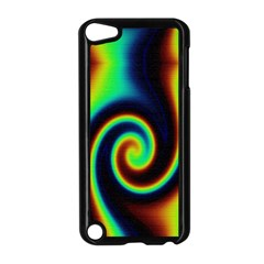 Background Colorful Vortex In Structure Apple iPod Touch 5 Case (Black)