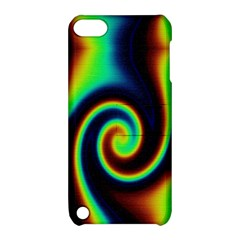 Background Colorful Vortex In Structure Apple iPod Touch 5 Hardshell Case with Stand