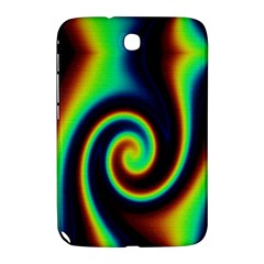 Background Colorful Vortex In Structure Samsung Galaxy Note 8.0 N5100 Hardshell Case