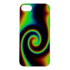 Background Colorful Vortex In Structure Apple iPhone 5S/ SE Hardshell Case