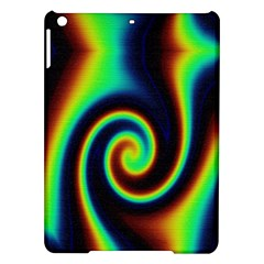 Background Colorful Vortex In Structure iPad Air Hardshell Cases