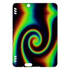 Background Colorful Vortex In Structure Kindle Fire Hdx Hardshell Case