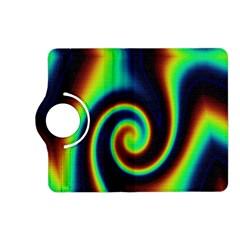 Background Colorful Vortex In Structure Kindle Fire HD (2013) Flip 360 Case