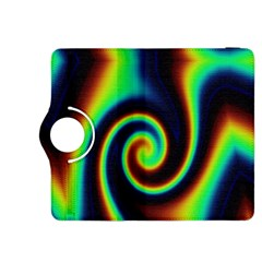 Background Colorful Vortex In Structure Kindle Fire HDX 8.9  Flip 360 Case