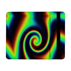 Background Colorful Vortex In Structure Samsung Galaxy Tab Pro 8 4  Flip Case