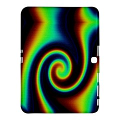 Background Colorful Vortex In Structure Samsung Galaxy Tab 4 (10 1 ) Hardshell Case