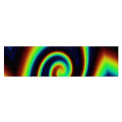 Background Colorful Vortex In Structure Satin Scarf (oblong)