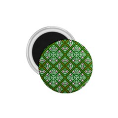 Digital Computer Graphic Seamless Geometric Ornament 1.75  Magnets
