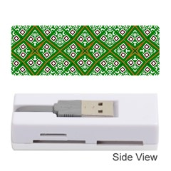 Digital Computer Graphic Seamless Geometric Ornament Memory Card Reader (stick)