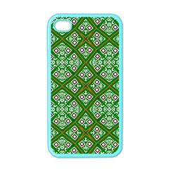 Digital Computer Graphic Seamless Geometric Ornament Apple iPhone 4 Case (Color)