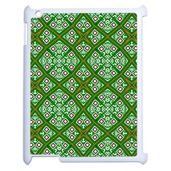 Digital Computer Graphic Seamless Geometric Ornament Apple Ipad 2 Case (white)