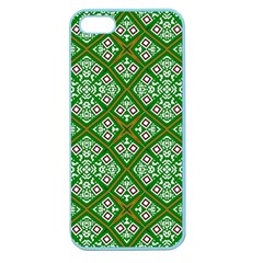 Digital Computer Graphic Seamless Geometric Ornament Apple Seamless iPhone 5 Case (Color)