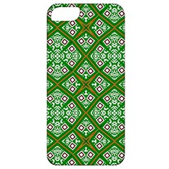 Digital Computer Graphic Seamless Geometric Ornament Apple iPhone 5 Classic Hardshell Case
