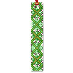 Digital Computer Graphic Seamless Geometric Ornament Large Book Marks