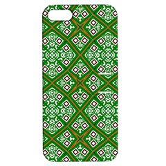 Digital Computer Graphic Seamless Geometric Ornament Apple Iphone 5 Hardshell Case With Stand