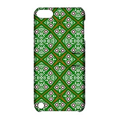 Digital Computer Graphic Seamless Geometric Ornament Apple iPod Touch 5 Hardshell Case with Stand