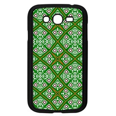 Digital Computer Graphic Seamless Geometric Ornament Samsung Galaxy Grand DUOS I9082 Case (Black)
