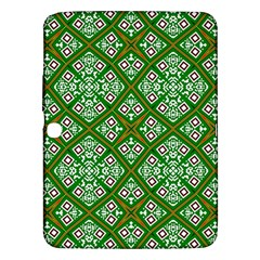 Digital Computer Graphic Seamless Geometric Ornament Samsung Galaxy Tab 3 (10.1 ) P5200 Hardshell Case
