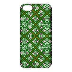 Digital Computer Graphic Seamless Geometric Ornament Apple iPhone 5C Hardshell Case