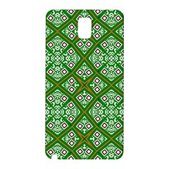 Digital Computer Graphic Seamless Geometric Ornament Samsung Galaxy Note 3 N9005 Hardshell Back Case