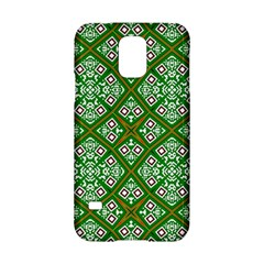 Digital Computer Graphic Seamless Geometric Ornament Samsung Galaxy S5 Hardshell Case