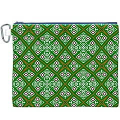 Digital Computer Graphic Seamless Geometric Ornament Canvas Cosmetic Bag (xxxl)