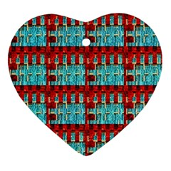 Architectural Abstract Pattern Ornament (heart)