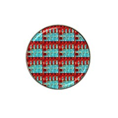 Architectural Abstract Pattern Hat Clip Ball Marker