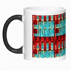 Architectural Abstract Pattern Morph Mugs