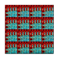 Architectural Abstract Pattern Face Towel