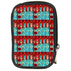Architectural Abstract Pattern Compact Camera Cases